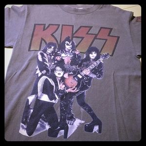 KISS Army Official Member Green T-SHIRT S